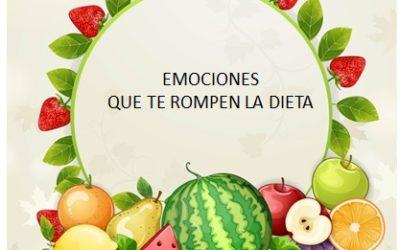DIETA: EMOCIONES QUE INFLUYEN CUANDO QUEREMOS ADELGAZAR