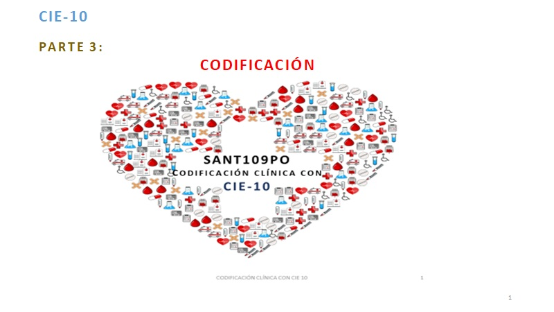 CIE-10 3ª PARTE CODIFICAR